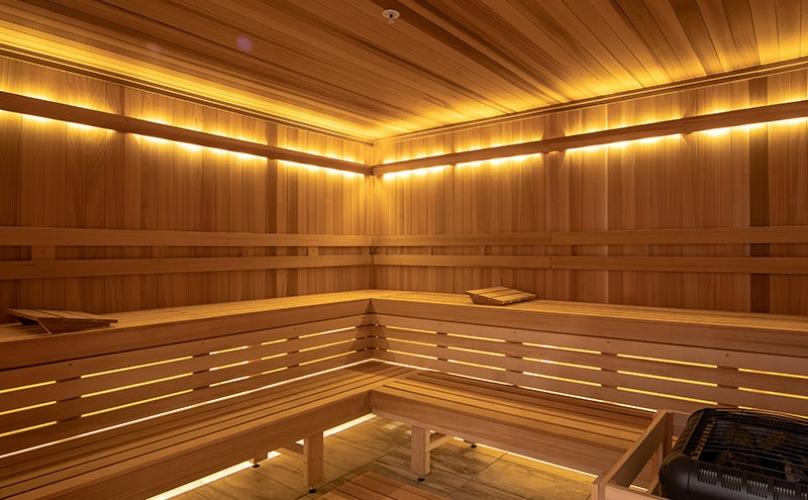 Beautiful, large Sauna