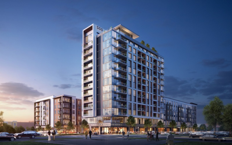 500 West Trade apartments in Charlotte, NC